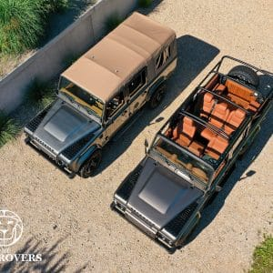 The Landrovers, Defender 110, Landrover